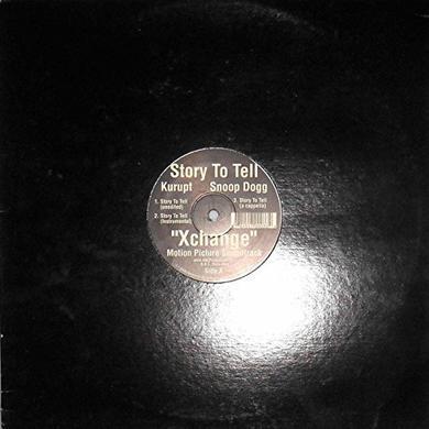 Kurupt & Snoop Dogg STORY TO TELL Vinyl Record