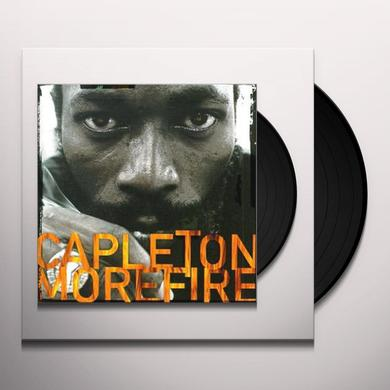 Capleton MORE FIRE Vinyl Record