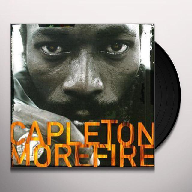 Capleton MORE FIRE Vinyl Record