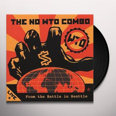 No Wto Combo LIVE FROM THE BATTLE IN SEATTLE Vinyl Record