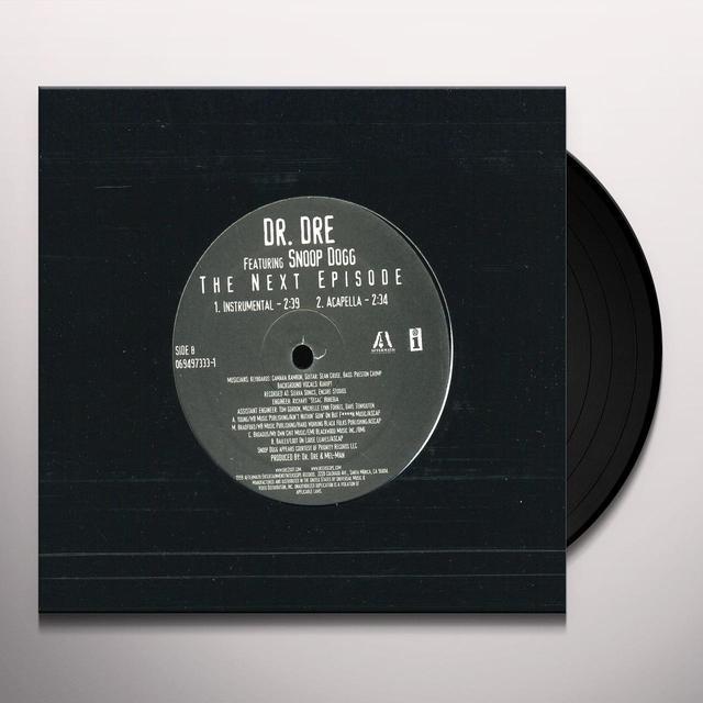 Dr Dre NEXT EPISODE (X4) Vinyl Record