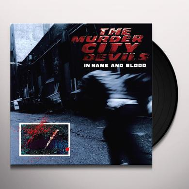 The Murder City Devils IN NAME & BLOOD Vinyl Record