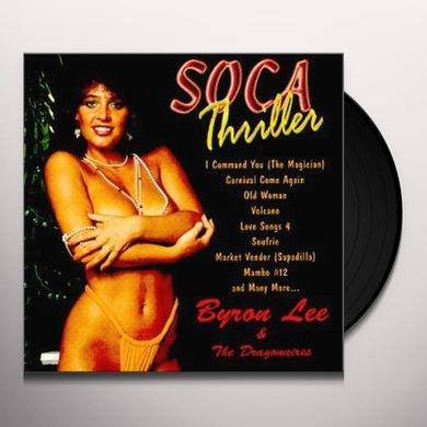 Byron Lee & The Dragonaires SOCA THRILLER Vinyl Record