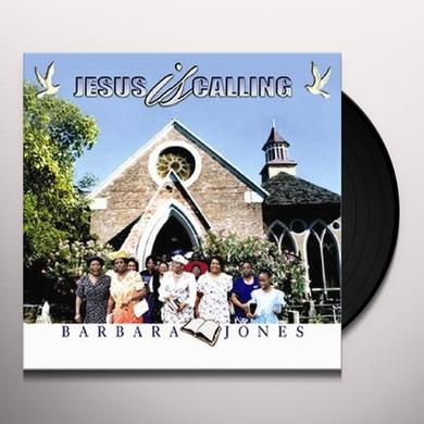Barbara Jones JESUS IS CALLING Vinyl Record