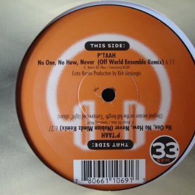 P'Taah OFF WORLD ENSMBLE VS NUBIAN MINDZ Vinyl Record
