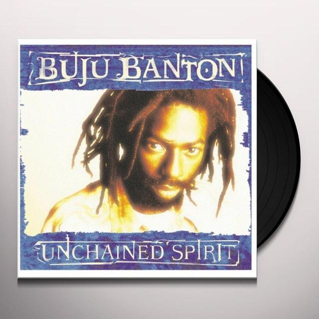 Buju Banton UNCHAINED SPIRIT Vinyl Record