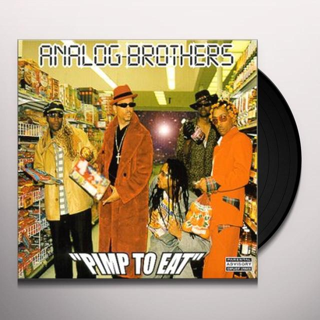 Analog Brothers PIMP TO EAT Vinyl Record