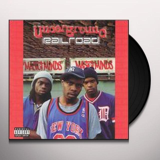 Masterminds UNDERGROUND RAILROAD Vinyl Record