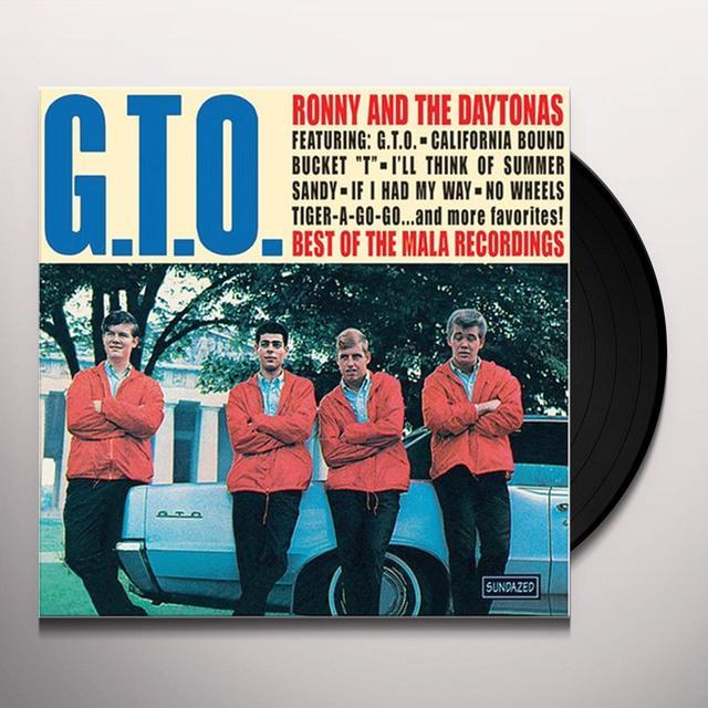 Ronny & Daytonas GTO: THE BEST OF Vinyl Record
