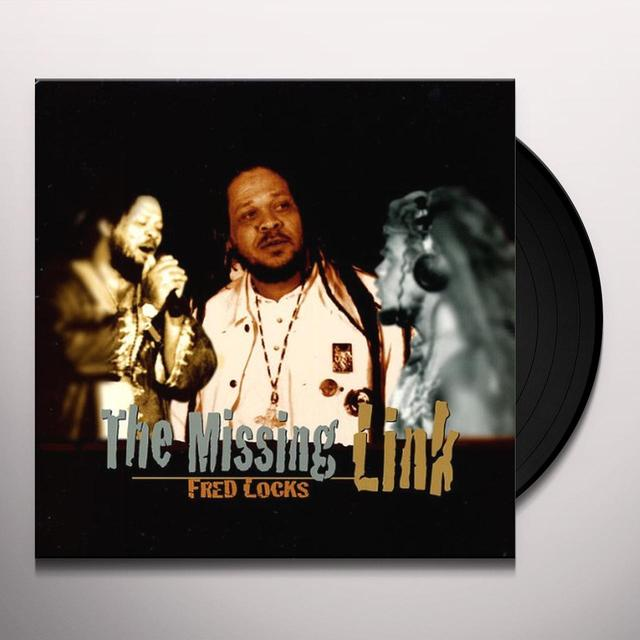 Fred Locks MISSING LINK Vinyl Record