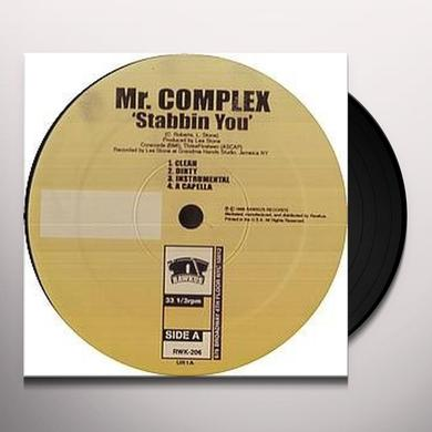 Mr Complex STABBIN YOU GITCHA GITCHA Vinyl Record