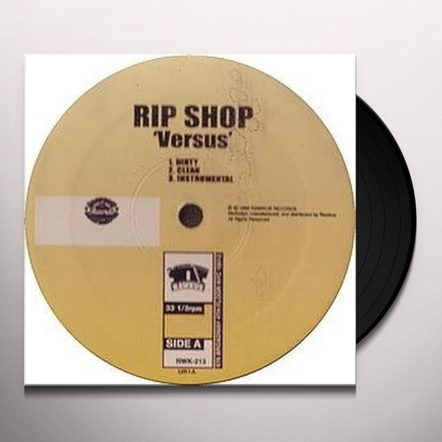 Rip Shop VERSUS +2 Vinyl Record