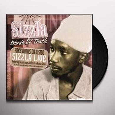 Sizzla WORDS OF TRUTH Vinyl Record