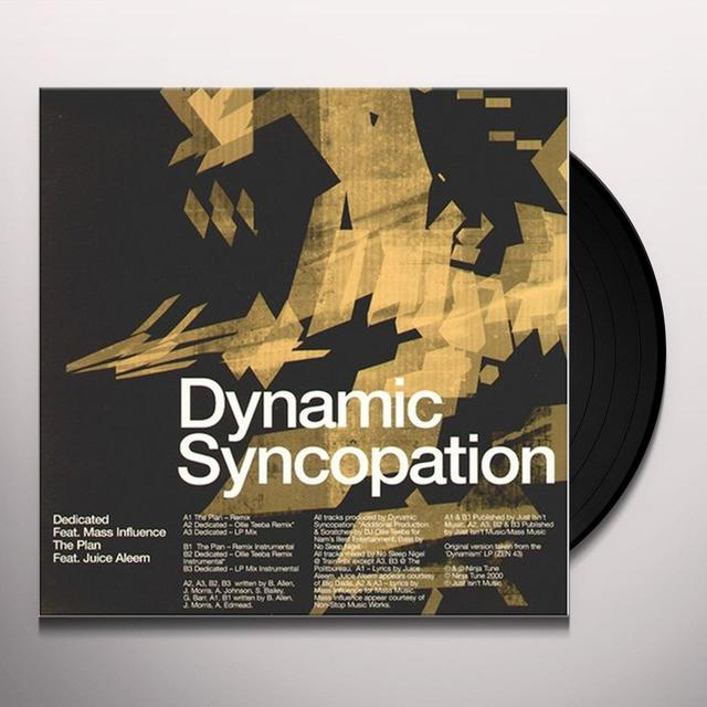 Dynamic Syncopation & Mass Influence DEDICATED Vinyl Record