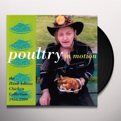Hasil Adkins POULTRY IN MOTION Vinyl Record