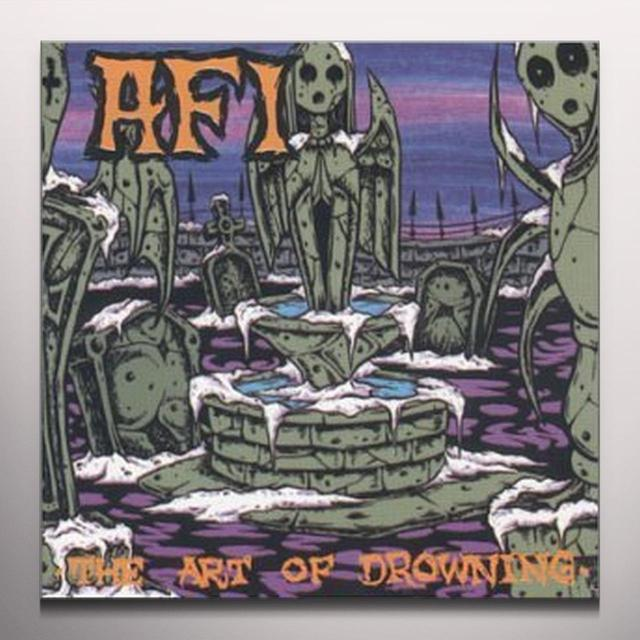 AFI ART OF DROWNING Vinyl Record - Colored Vinyl, Limited Edition