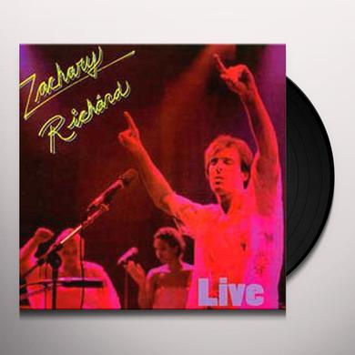 Zachary Richard LIVE IN MONTREAL Vinyl Record