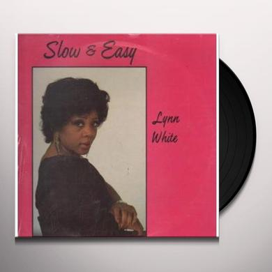 Lynn White SLOW & EASY Vinyl Record