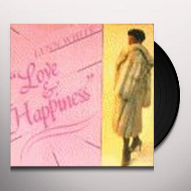 Lynn White LOVE & HAPPINESS Vinyl Record