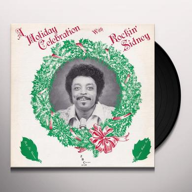 Rockin Sidney HOLIDAY CELEBRATION Vinyl Record