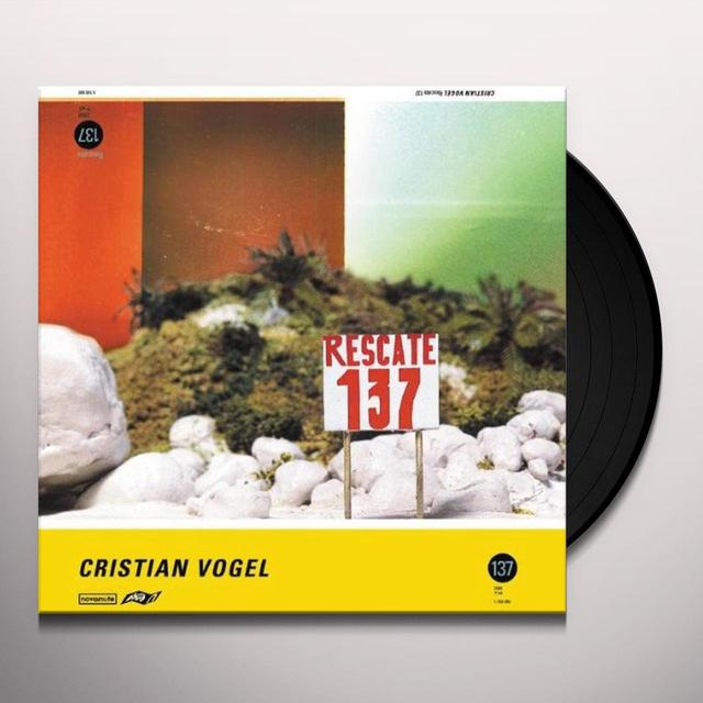 Cristian Vogel RESCATE 137 Vinyl Record - Limited Edition