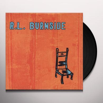 R.L. Burnside WISH I WAS IN HEAVEN SITTING DOWN Vinyl Record