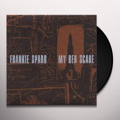 Frankie Sparo MY RED SCARE Vinyl Record