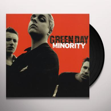 Green Day MINORITY Vinyl Record