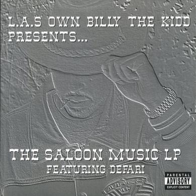 L.A.S Own Billy The Kidd SALOON MUSIC LP Vinyl Record