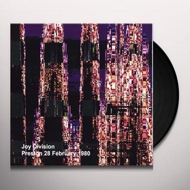 Joy Division PRESTON 28 FEBRUARY 1980 Vinyl Record