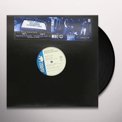 Black Anger / Bedroom Produksionz NON-FICTION / TEMPLE 8 Vinyl Record