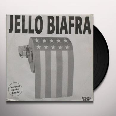 Jello Biafra EMERGENCY ELECTION SPECIAL Vinyl Record
