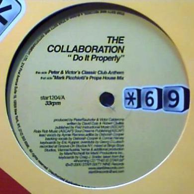 Collaboration DO IT PROPERLY Vinyl Record