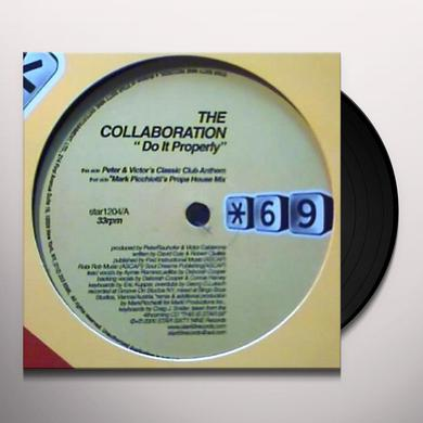 Collaboration DO IT PROPERLY Vinyl Record