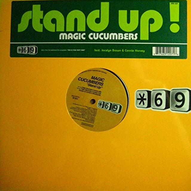 Magic Cucumbers / Jocelyn Brown / Connie Harvey STAND UP Vinyl Record