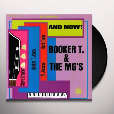 Booker T. & the M.G.'s AND NOW Vinyl Record