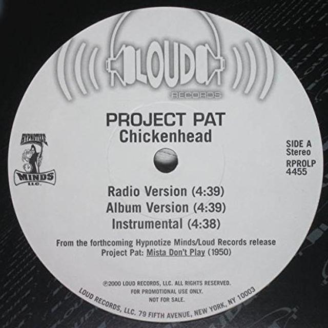 Project Pat / La Chat CHICKENHEAD Vinyl Record