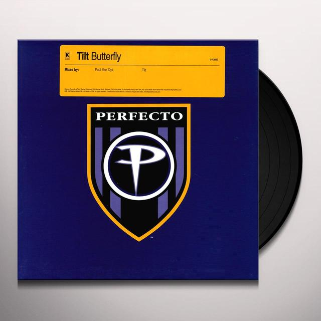Tilt BUTTERFLY Vinyl Record