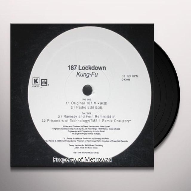 187 Lockdown KUNG-FU Vinyl Record