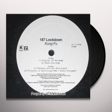 187 Lockdown KUNG-FU Vinyl Record