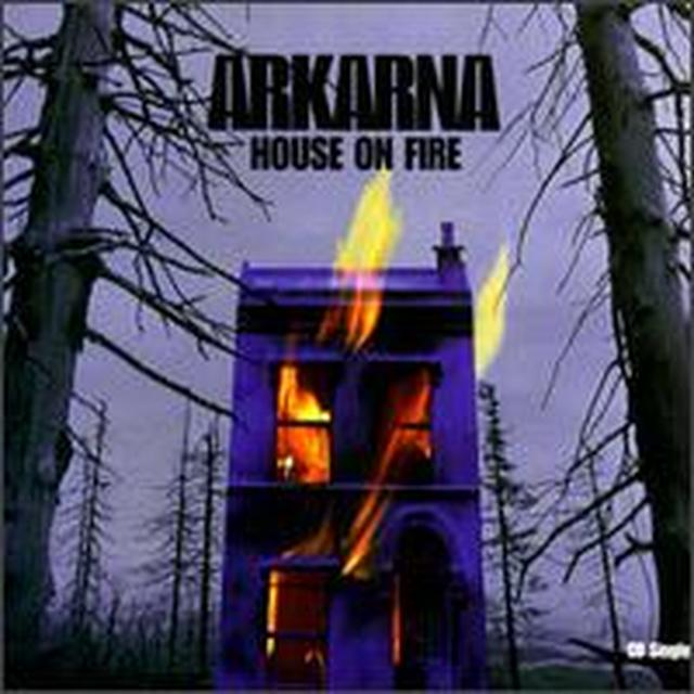 Arkarna HOUSE ON FIRE Vinyl Record