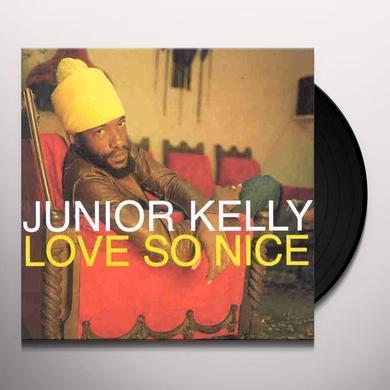 Junior Kelly STANDING FIRM Vinyl Record