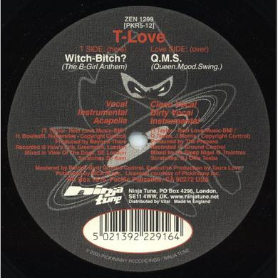 T-Love WITCH BITCH: QMS Vinyl Record
