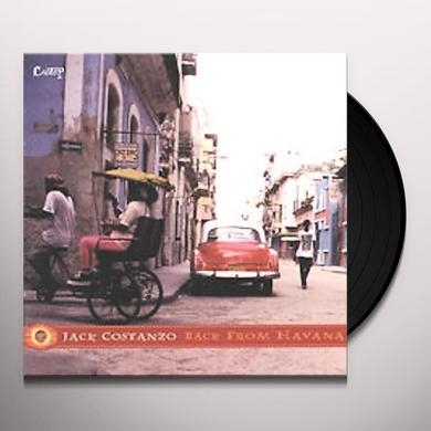 Jack Costanzo BACK FROM HAVANA Vinyl Record