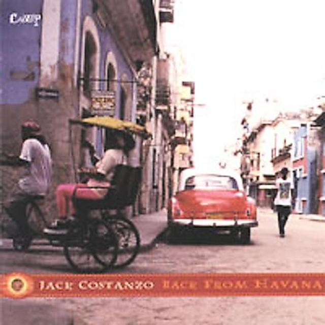Jack Costanzo BACK FROM HAVANA Vinyl Record