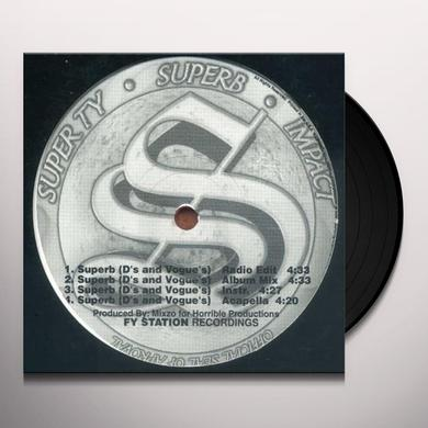 SUPERB B/W U CAN'T RIDE Vinyl Record
