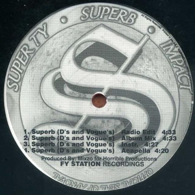SUPERB B/W U CAN'T RIDE Vinyl Record