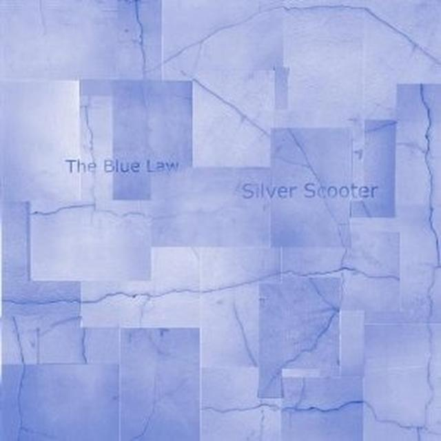 Silver Scooter BLUE LAW Vinyl Record