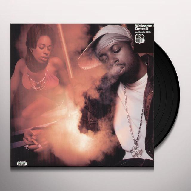 J Dilla WELCOME TO DETROIT Vinyl Record