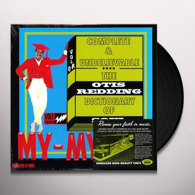 Otis Redding DICTIONARY OF SOUL Vinyl Record